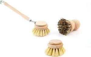 spazzola lavapiatti naturale