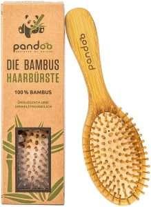 regali di natale ecologici per lei spazzola bambù