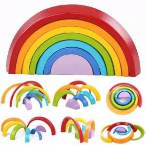giochi in legno gioco arcobaleno