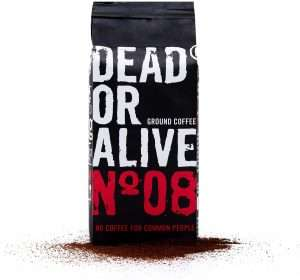 fondi di caffè da robusta e arabica dead or alive
