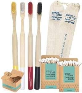 spazzolino in bamboo antimuffa