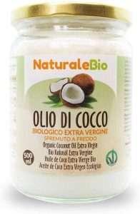 oil pulling con olio di cocco